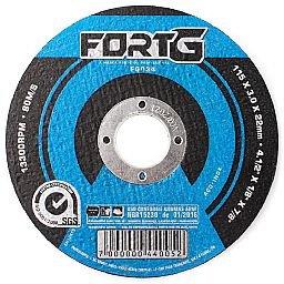 Disco de Corte 115 x 3 x 22,23mm para Aço e Metais Ferrosos