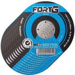 Kit 10 Discos de Corte 115 x 3 x 22,23mm para Aço e Metais Ferrosos FG034