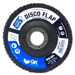 Disco Flap Óxido de Alumínio e Zircônio 4,5 Pol. Grão 120