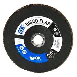 Disco Flap Óxido de Alumínio e Zircônio 7  Pol. Grão 40