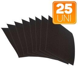 Lixa de Ferro/Aço Trionite 225 x 275mm Grão 320 com 25 Unidades