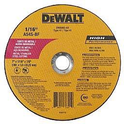 Disco de Corte Fino 7 Pol. x 1,6mm x 7/8 Pol. para Metal e Aço Inox