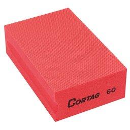 Esponja Diamantada Grão 60 Vermelha