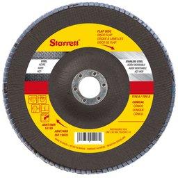 Disco Flap em Fibra de Vidro 180 mm com Grão de Zircônio 40