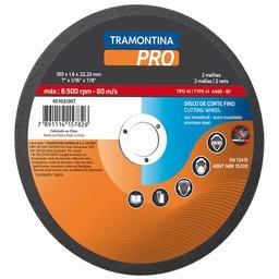 Disco de Corte Fino para Aço Inox e Materiais Endurecidos 10 Pol.