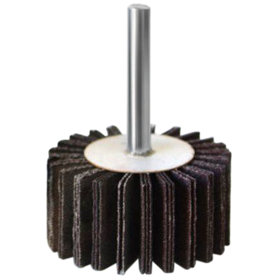 Mini Roda de Lixa 25 x 75mm com Haste 1/4 Pol. Grão 120