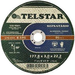 Disco de Corte Refratário T41 7 x 1/8 x 7/8Pol.
