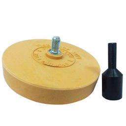 Disco Removedor de Adesivos com Haste 1/4 Pol.