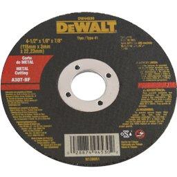 Disco Abrasivo para Corte de Metal 4-1/2 x 1/8 x 7/8 Pol.