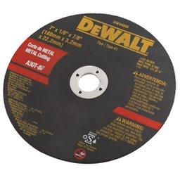 Disco  para Metal de Corte Fino de  7  x 1/8  x 7/8 Pol.