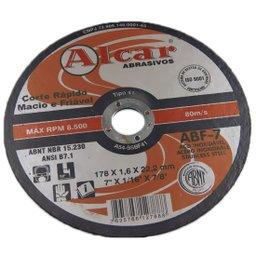 Disco de Corte Fino 178,0 x 1,6 x 22,2 mm