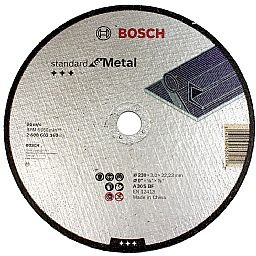 Disco de Corte para Metal de 230mm 9 Pol.