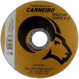 Disco de Corte de Aço Inox 4.1/2 Pol.