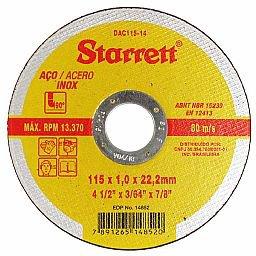 Disco de Corte de 4.1/2 Pol. para Aço Inox