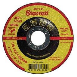 Disco Abrasivo de Desbaste 115 x 6,4 x 22,22mm