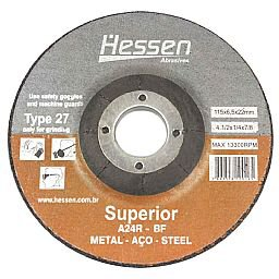 Disco de Desbaste de 4.1/2 Pol. para Metal