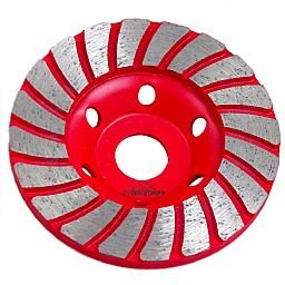 Disco de Desbaste Diamantado 100mm 20 Dentes para Concreto