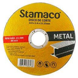 Disco de Corte de 115 x 22,23 mm para Metal