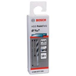 Jogo de Brocas para Metal HSS PointTeQ 3/32 Pol. com 10 Peças