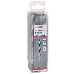 Jogo de Brocas para Metal HSS PointTeQ 8,8mm com 10 Peças