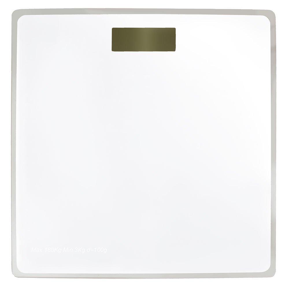 Balança Digital em Vidro  com 4 Sensores Branca
