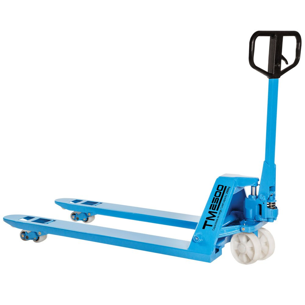 Transpalete Manual 2500Kg 680 x 1150 mm com Roda Dupla de Nylon