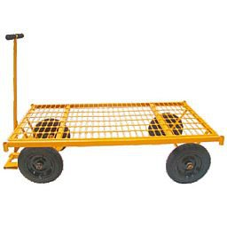 Carro Plataforma com Plataforma Grade de Aço 600kg