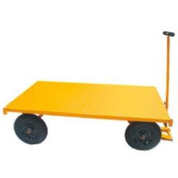 Carro Plataforma com Plataforma Chapa de Aço 600kg