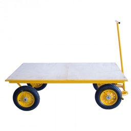 Carro Plataforma com Base de Madeira 600kg