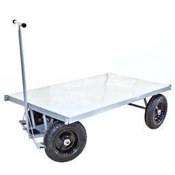 Carrinho Plataforma de Metal 1500 x 800mm com Capacidade de 400kg