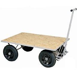 Carro Plataforma de Madeira 600 kg