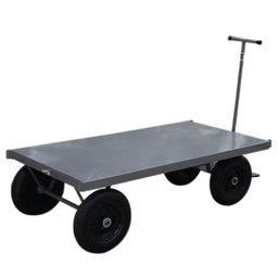 Carrinho de Aço Carga Plataforma 800 kg