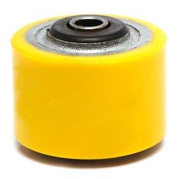 Roda de Poliuretano 3 Pol. com Rolamento Capacidade de 180kg