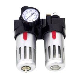 Filtro Regulador e Lubrificador 1/2 Pol. para Ar e Óleo