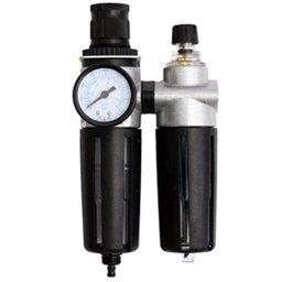 Filtro Regulador e Lubrificador 1/4 Pol. de Ar