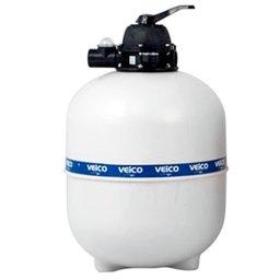 Filtro V-70 com Válvula 6 Vias para Piscina até 112.000 Litros