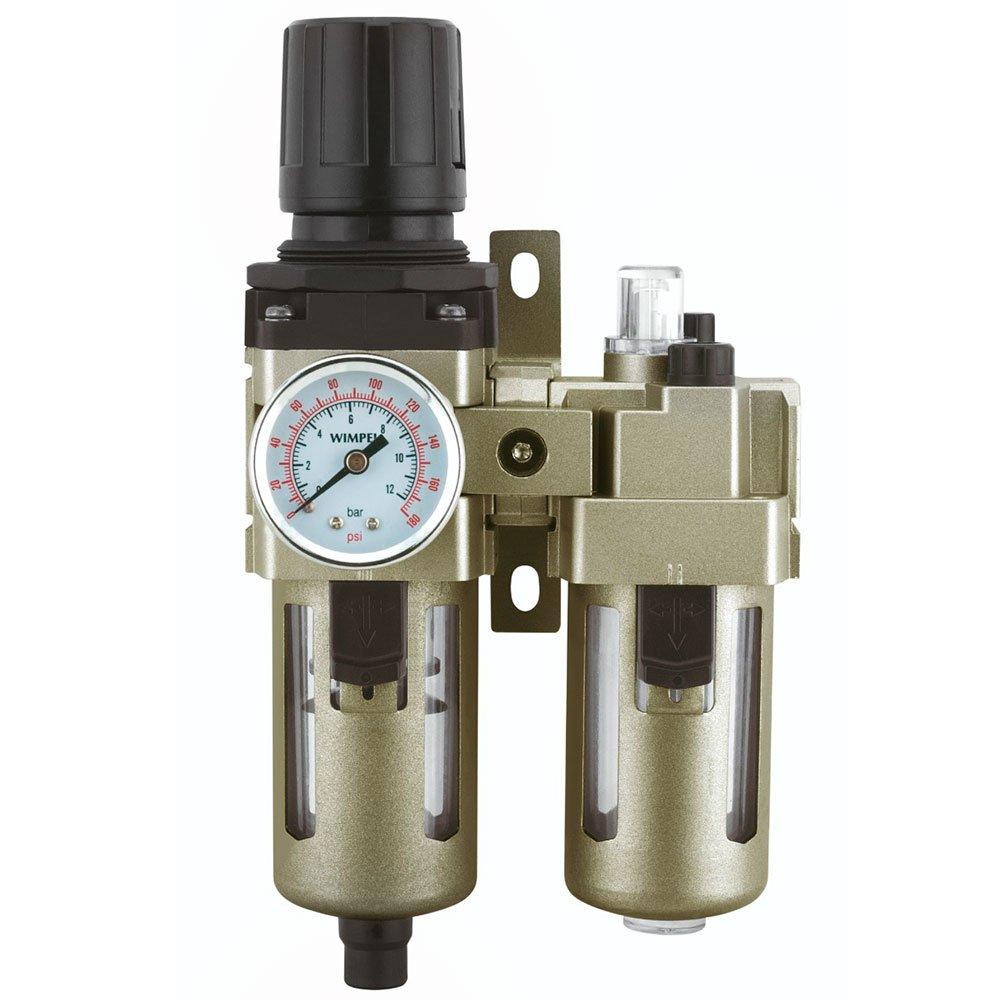 Filtro Regulador e Lubrificador de Ar 1/4 Pol. 800L/min