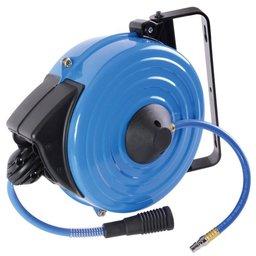 Carretel Retrátil com Mangueira 8 x 12mm com 10 Metros para Chave de Impacto