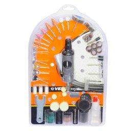 Mini Retífica Pneumática 1/8 Pol. com 134 Peças