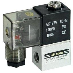 Válvula Direcional 2/2V 1/8 Pol. BspxMb8x0.75/Ma5 110 Motocompressores Odontológicos