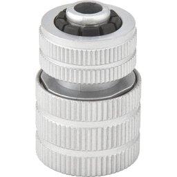 Engate rápido para mangueira 1/2 Pol., de alumínio, passagem livre