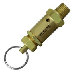 Válvula de Segurança ou Alívio para Compressor 175 Lbs