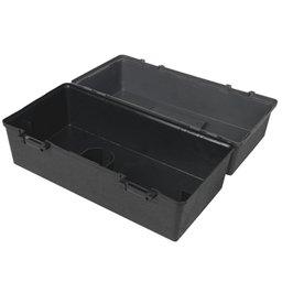 Caixa Multiuso Plástica Preta 420 x 220mm