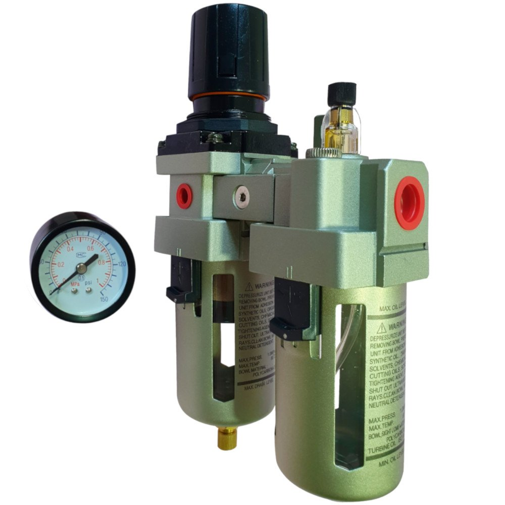 Filtro Regulador de Ar Médio 1/2Pol.