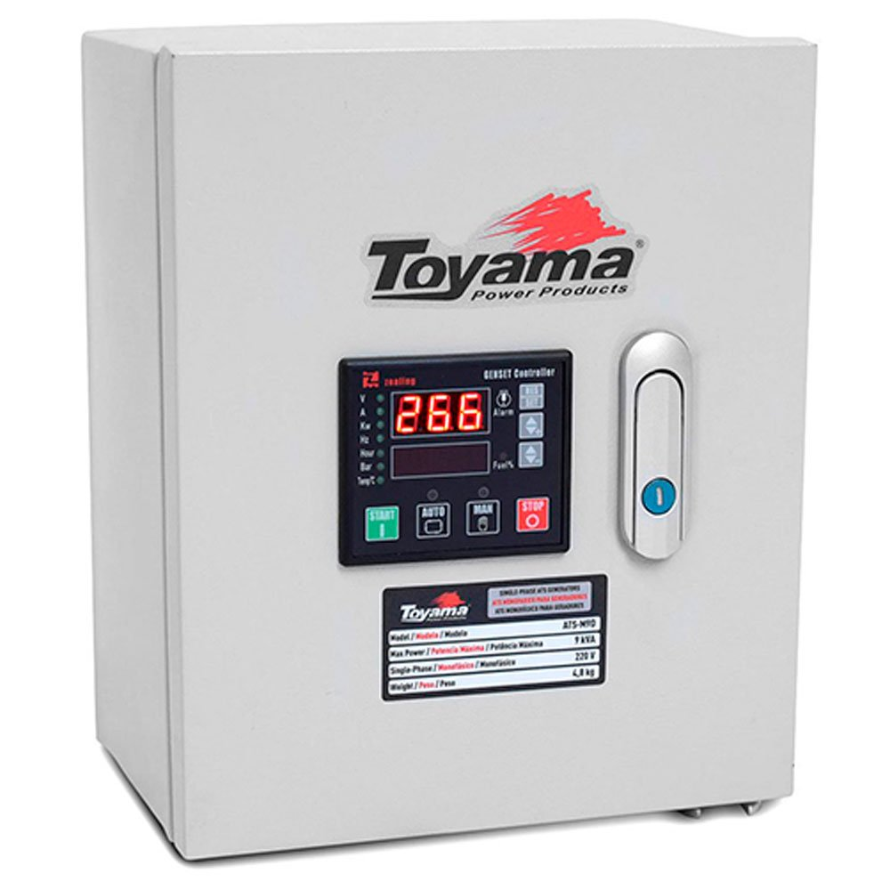 Painel ATS-T9 Trifásico 380V para Geradores TDG7500 E TDG8500 XP
