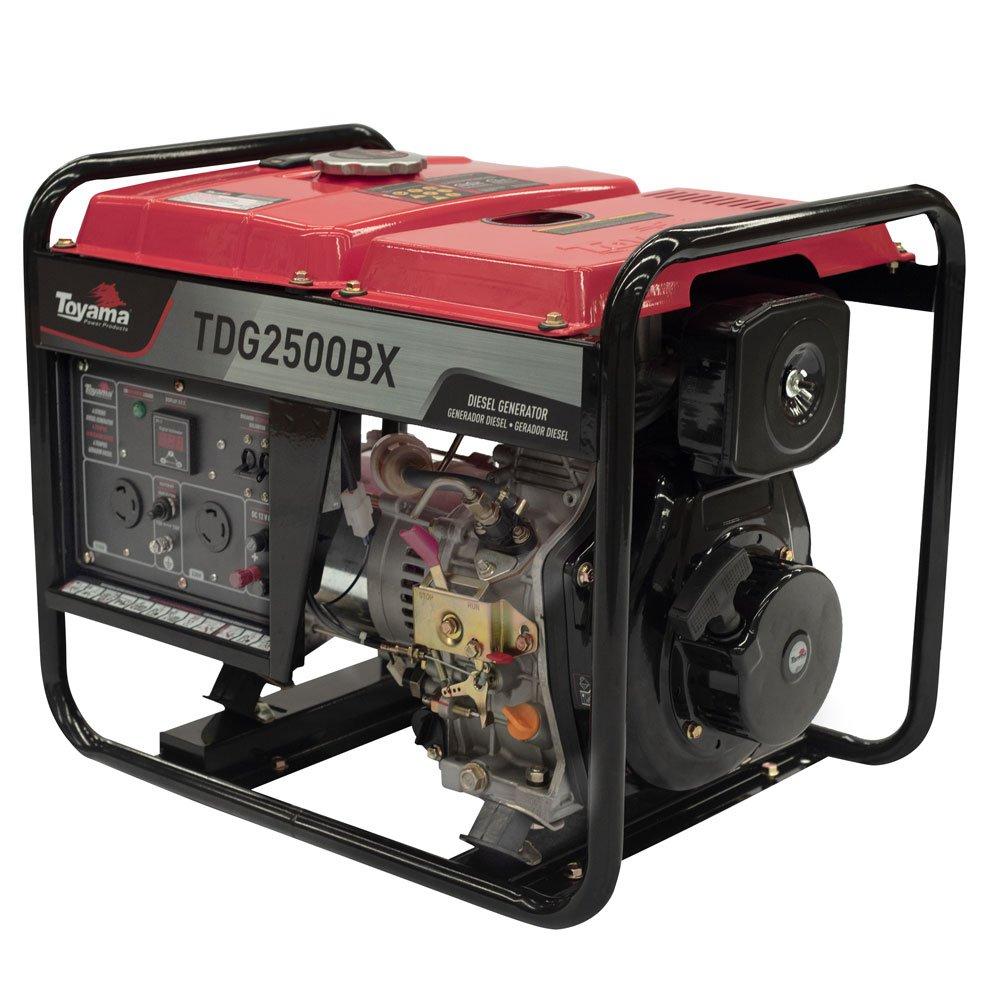 Gerador a Diesel TDG2500BX Mono 211CC 2.2kVA com Partida Manual
