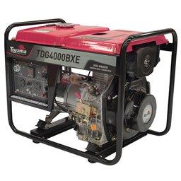 Gerador de Energia a Diesel 4T 296CC 3.3kVA com Partida Elétrica