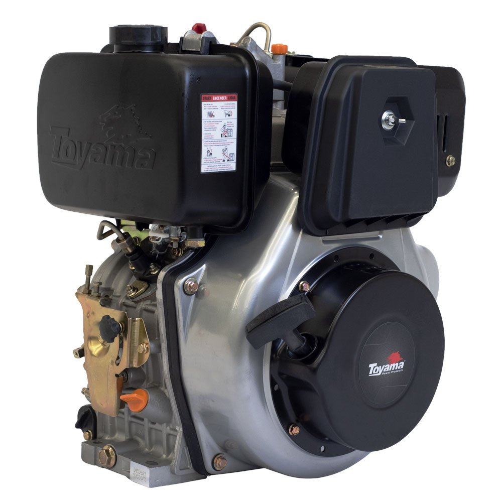 Motor a Diesel 4T 12,5HP 456CC com Partida Elétrica