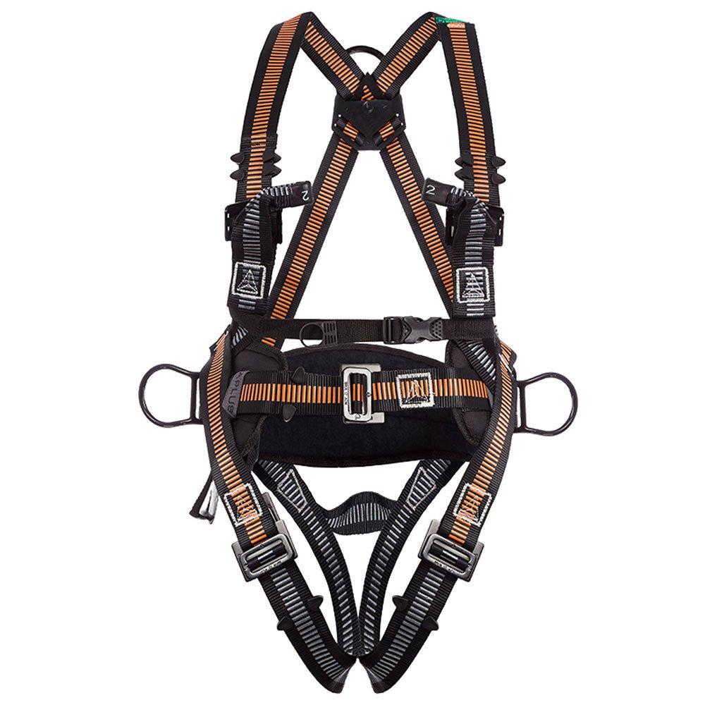Cinturão de Segurança tipo Paraquedista/Abdominal com 4 Pontos de Conexão