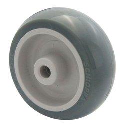 Roda de PVC 125mm 5/16Pol.
